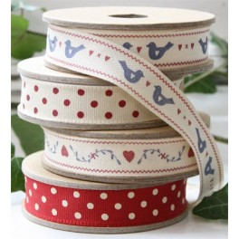 Rolls of Ribbon, Red