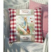 Beatrix Potter Name & Date Cushion