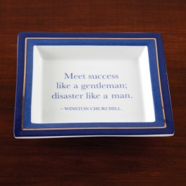 Desk Tray with wise saying