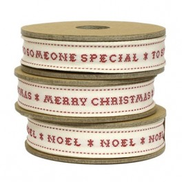 Christmas Ribbon, Cross Stitch