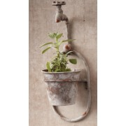 Waterspout Flower Pot