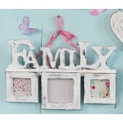 Triple FAMILY Photo Frame