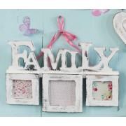 Triple FAMILY Photo Frame