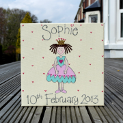 Personalised Canvas, Princess