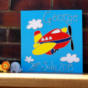 Personalised Canvas, Plane