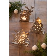 2-way Christmas Tea Light Holders