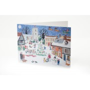 Advent Calendar Card - Christmas in the Village