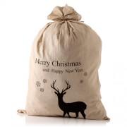 Linen Christmas Sack
