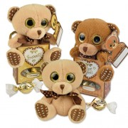 Plush Teddy with pralines