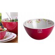 Melamine Paisley Salad Bowl