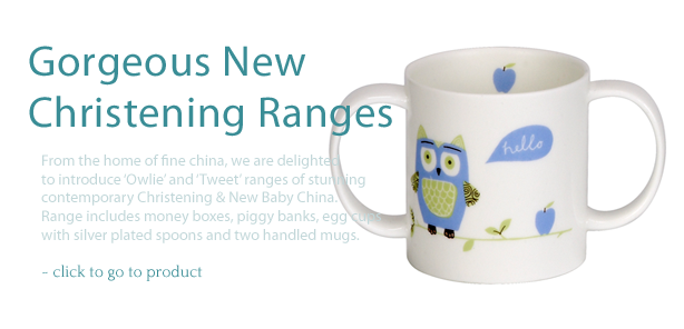 Christening Two Handle Mug