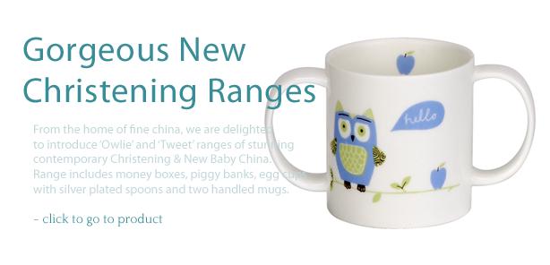 Christening Two Handle Mug