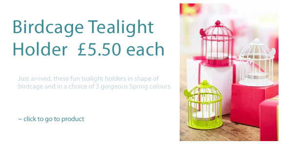 BirdCage Tealight Holder