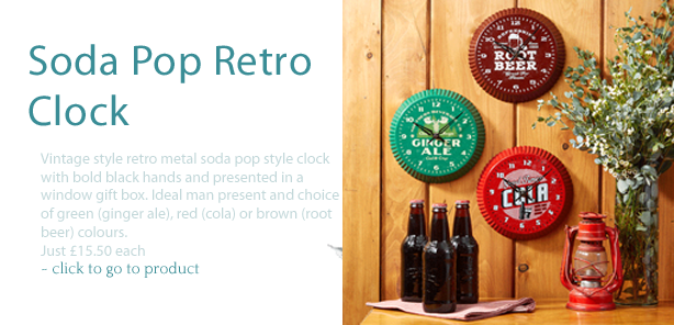 Soda Pop Clock