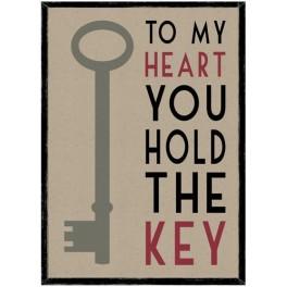 Framed Picture, Large, Key