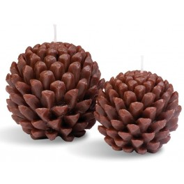 Fir Cone Candle Medium