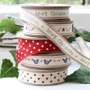 Rolls of Christmas Ribbon, B