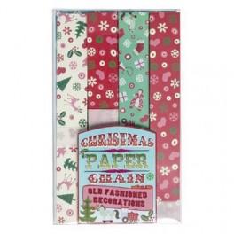 50's Christmas Retro Paperchain