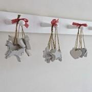 Bundles of hearts/stars/reindeers