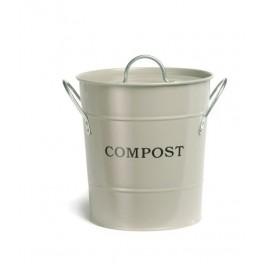 Enamel Compost Bin