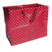 Red Spotty Storage/Shopping Bag