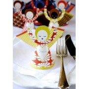 Set of 7 Angel Place Settings