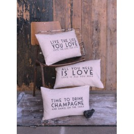 Long Message Cushions