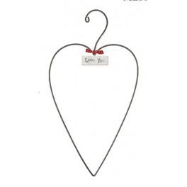Zinc Heart - medium