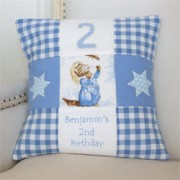 Beatrix Potter Birthday Cushion