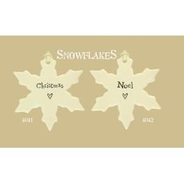 Porcelain Snowflakes