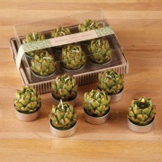 Artichoke Tealight Candles x 6