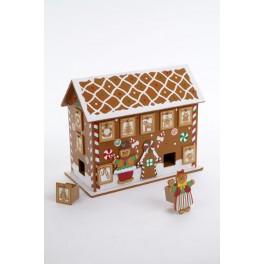 Advent Calendar - Gingerbread House