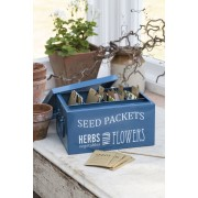 Seed Packets Organiser, Burgon & Ball
