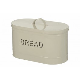 Bread Bin in cream enamel