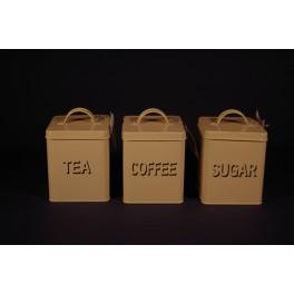 Cream Storage Tins - Set of 3