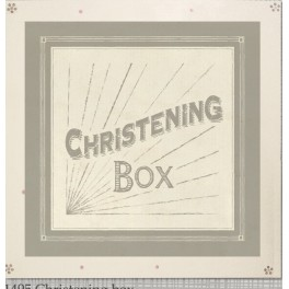 Wooden Keepsake Box - Christening Box