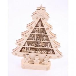 Christmas Tree House with LED lights