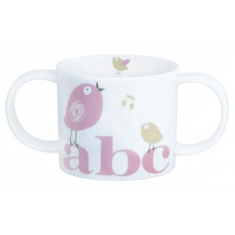 Christening Two Handle Mug - Tweet