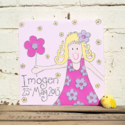 Personalised Canvas, Little Miss