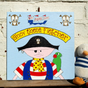 Personalised Canvas, Pirate