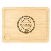 Kitchen Chef Chopping Board - Personalised