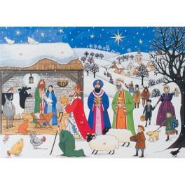 Advent Calendar - Jesus is Born