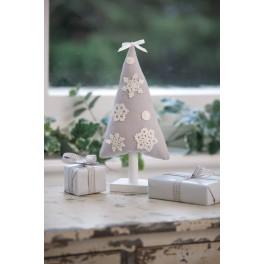 Crochet Snowflake Tree