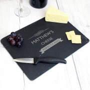 Slate Chopping Board - Personalised
