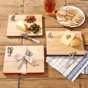 Oak serving board with spreader