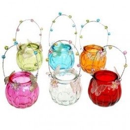 Butterfly Hanging T-light Holders