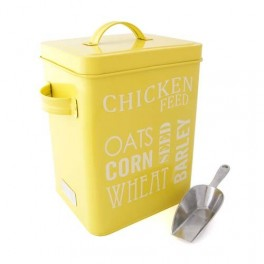 Chicken Feed Tin (enamelware)