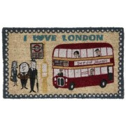 I Love London Doormat