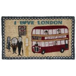 I Love London Doormat