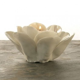 Rose Porcelain Tealight Holder